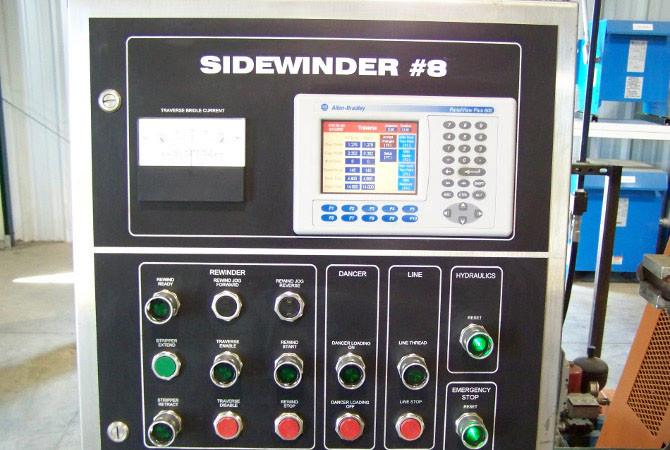 Ruesch Sidewinder #8 control panel