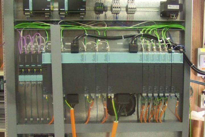 Siemens s120 Drives Slitting Line