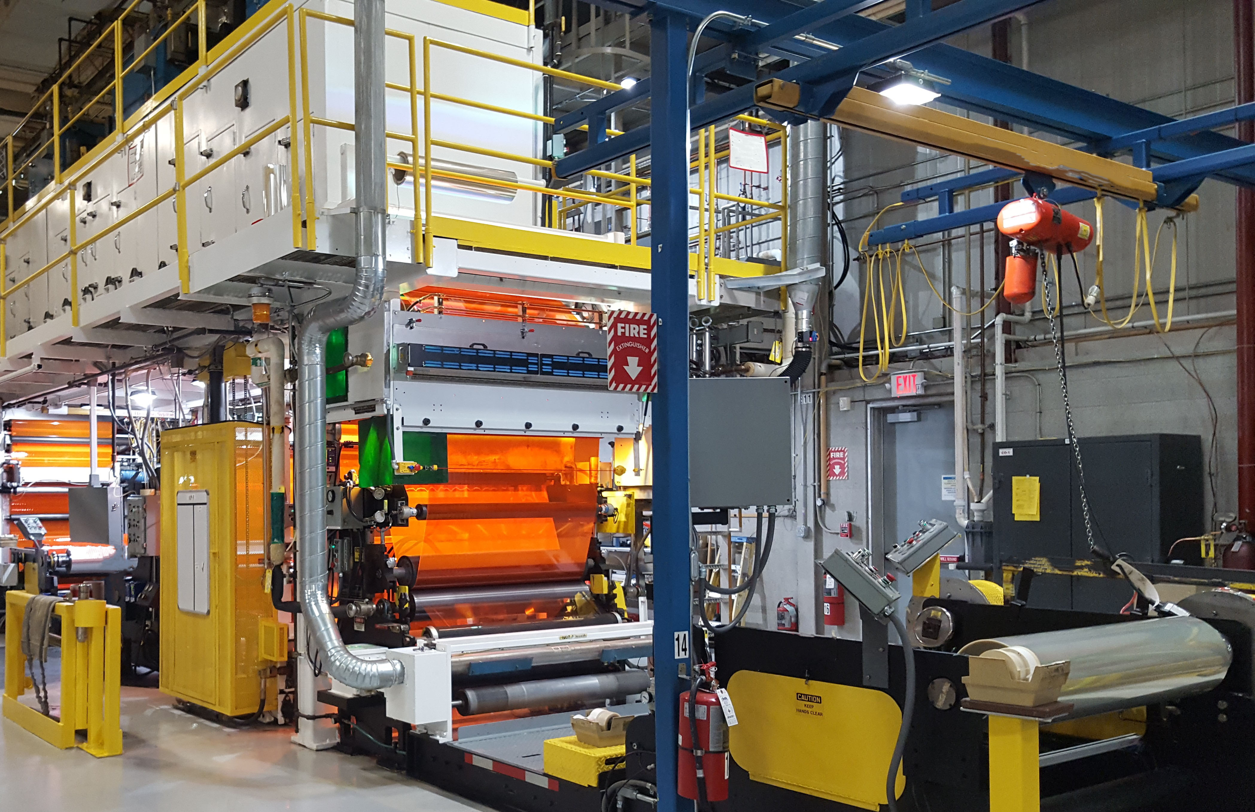 film coating line downtime resolved with edc s successful drives
