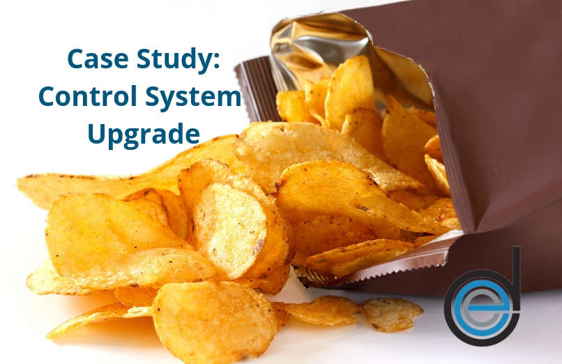 Electronic Drives and Controls potato chip control system upgrade
