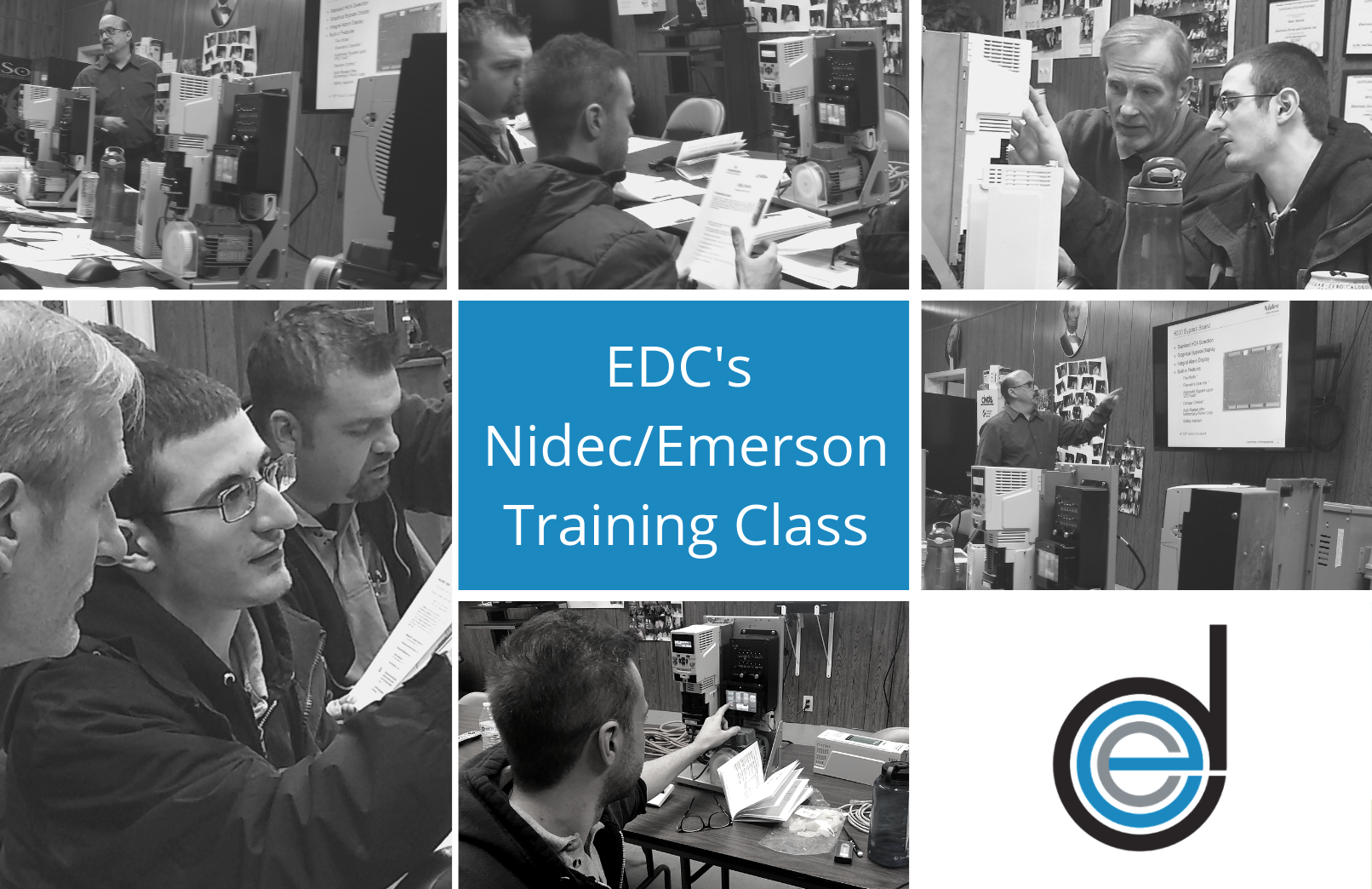 Electronic Drives and Controls Nidec/Emerson Training Class