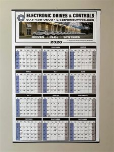 EDC Wall Calendar